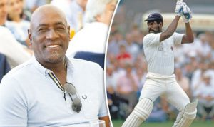 What was Sir Vivian Richards' batting average in first class cricket?