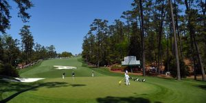 Which is the most difficult hole at Augusta National Golf Club?