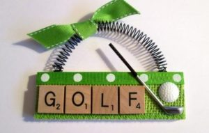 What is the origin of the word 'golf'?