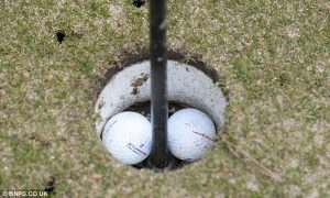 Has any professional golfer record two holes-in-one is the same round?