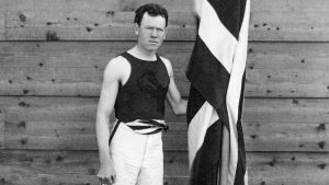 Who was the first modern Olympic champion?
