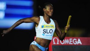 Did Merlene Ottey ever win an Olympic gold medal?